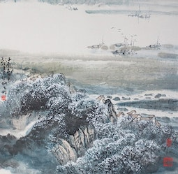 Spring colors of the southern tide by Cai Tian-Xiong 蔡天雄