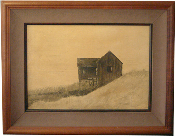 Barn(American Painting/Drawing)