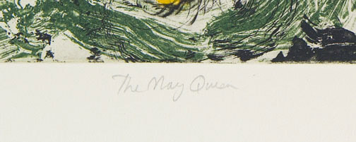 The May Queen 3/20 by Don Ed Hardy(American Print)