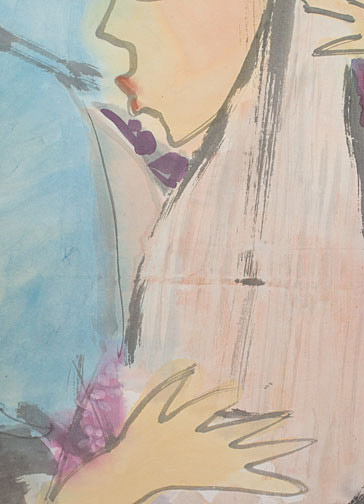 Music, Music, Music by H. H. Wong 黃可鏗(Chinese Painting/Drawing)