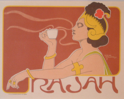 Rajah - French Art Nouveau(European Print)