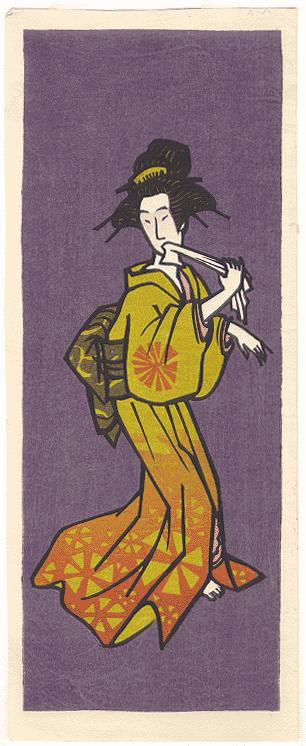 A Woman A by Clifton Karhu(Japanese Print)