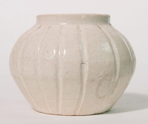 Fluted Cosmetic Pot(Southeast Asian Functional Object)