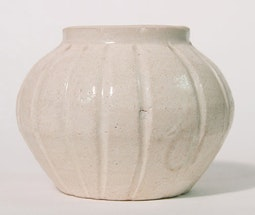 Fluted Cosmetic Pot