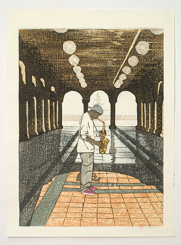 After the Rain (38/86) by Joshua Rome(Japanese Print)