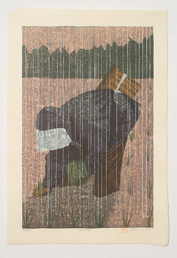 Saotome (The Rice Planter) (84/100) by Joshua Rome(Japanese Print)