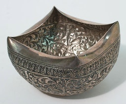 Cambodian Silver Bowl