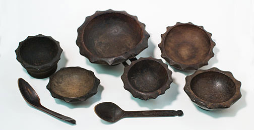 Ifugao Bowls and Spoons(Southeast Asian Functional Object)