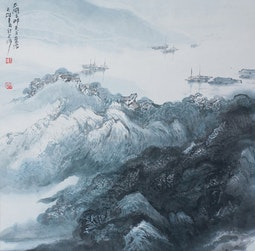 Southern Harbor by Cai Tian-Xiong 蔡天雄