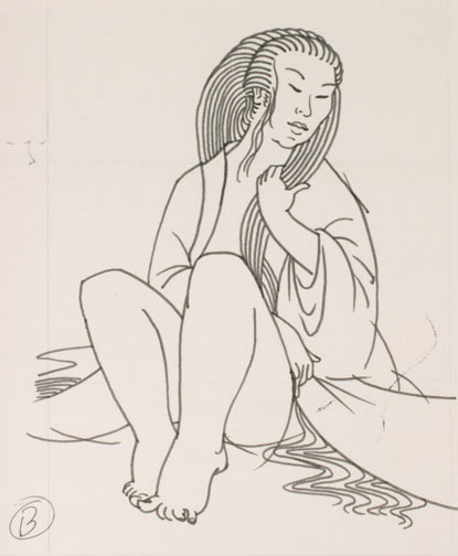 Letters of Karhu by Clifton Karhu(Japanese Painting/Drawing)