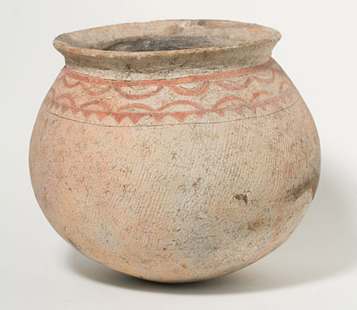 Round Bottomed Ban Chiang Vessel(Southeast Asian Functional Object)