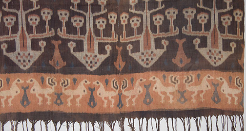 Indonesian Hinggi - Skull Tree(Southeast Asian Textile)