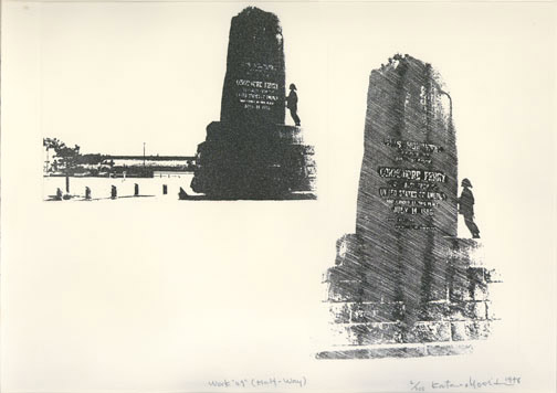 Work 49: Perry Monument(Japanese Print)