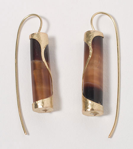 Agate Earrings(Southeast Asian Jewelry)