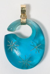 Blue Glass Pendant