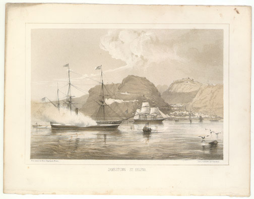Jamestown, St. Helena by William Heine(African Print)