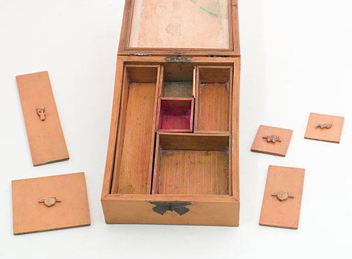 6-Chambered Scholar's Box(Chinese Scholar's Table)