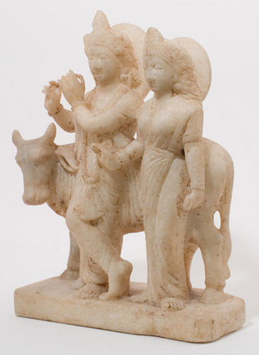Krishna and Radha(Indian Sculpture)