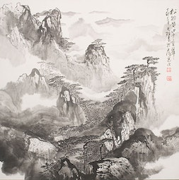 Among the Clouds by Cai Tian-Xiong 蔡天雄