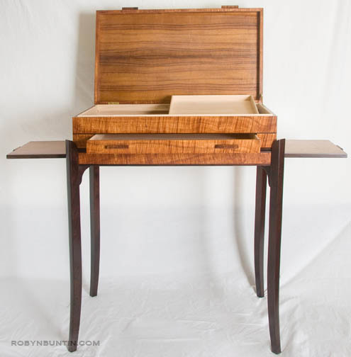 Koa Jewel/Collector's Chest by Joel Bright(Hawaiian Furniture)