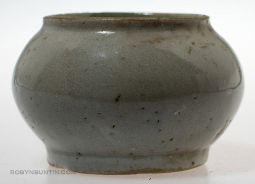 Small Grey Celadon Vessel(Southeast Asian Functional Object)