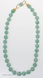 Jadeite Necklace by Tomi