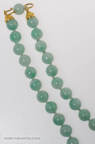 Jadeite Necklace by Tomi(Chinese Jewelry)