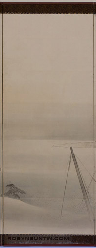 Procession to the Shrine(Japanese Screen)