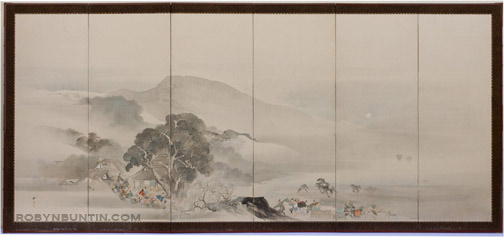 Procession(Japanese Screen)