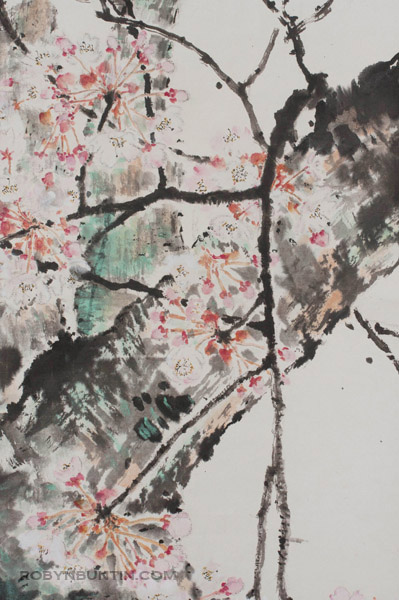 Contemporary Painting by Yu Lai Yin 余麗燕(Chinese Scroll)