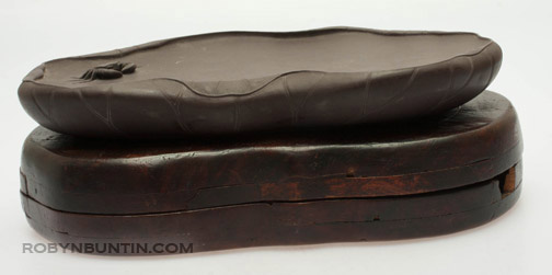 Crab Ink Stone & Carrying Box(Chinese Scholar's Table)