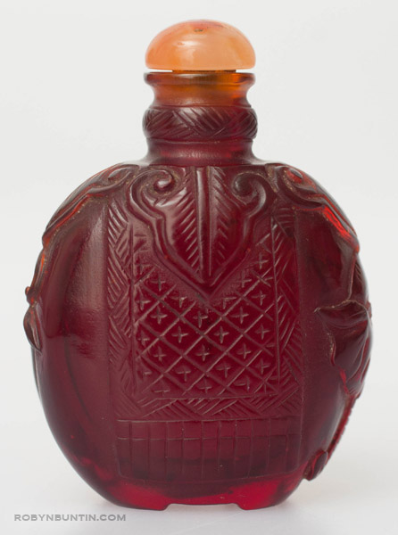 Elephant Snuff Bottle(Chinese Sculpture)