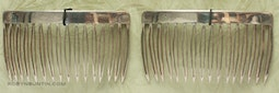 Pair of Silver Combs