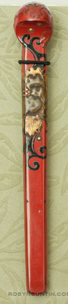 Lacquer Hairpin(Japanese Jewelry)