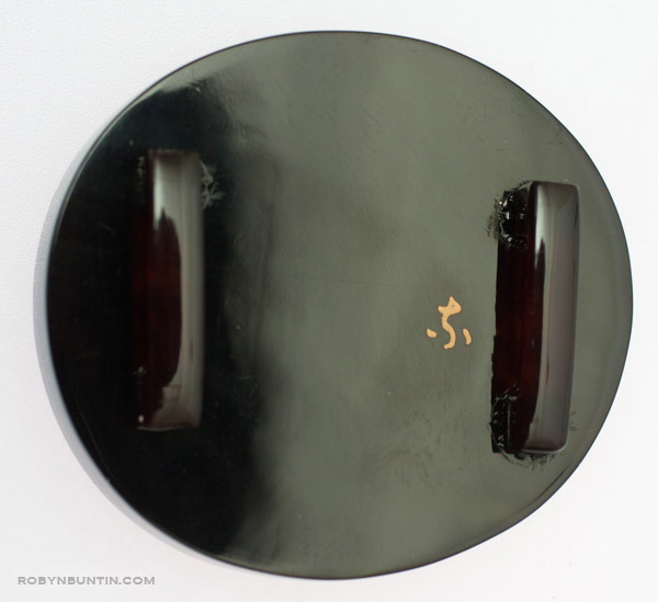 Lacquer Obidome(Japanese Jewelry)